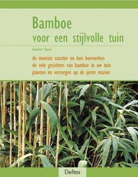 Cover van het boek 'Bamboe voor een stijlvolle tuin'