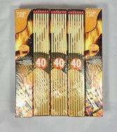 5 pakken XXL BBQ lucifers 28 cm
