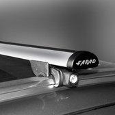 Dakdragers Bmw X1 (F48) vanaf 2015 met gesloten dakrails - Farad aluminium
