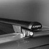 Dakdragers Audi A4 Avant (B8) 2008 t/m 2015 met gesloten dakrails - Farad staal