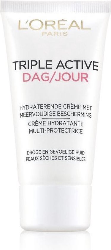 Loreal paris triple active dagcreme tube