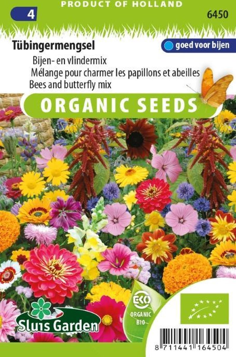 Sluis Garden -Tübingermengsel, Bijen- en vlindermix biologisch