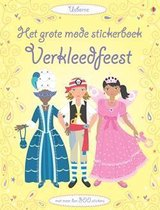 Grote mode stickerboek verkleedfeest