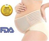 Merkloos / Sans marque Verstelbaar - Zwangerschapsbuikband