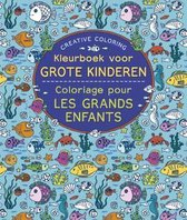 Creative coloring -  Kleurboek voor grote kinderen