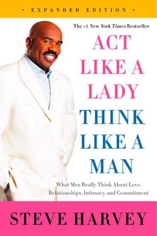 Boek cover Act Like a Lady, Think Like a Man van Steve Harvey (Paperback)