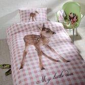Day Dream Rosa Hert - dekbedovertrek - eenpersoons - 140x200 - Multi