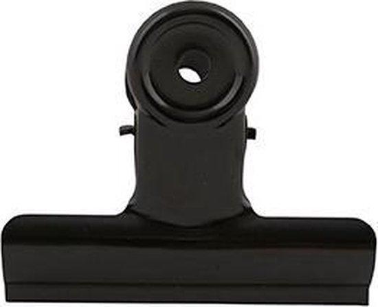 House Doctor Clips 85mm zwart verpakking 8 stuks