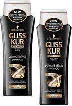 Gliss Kur Shampoo Ultimate Repair 2 x 250 ml