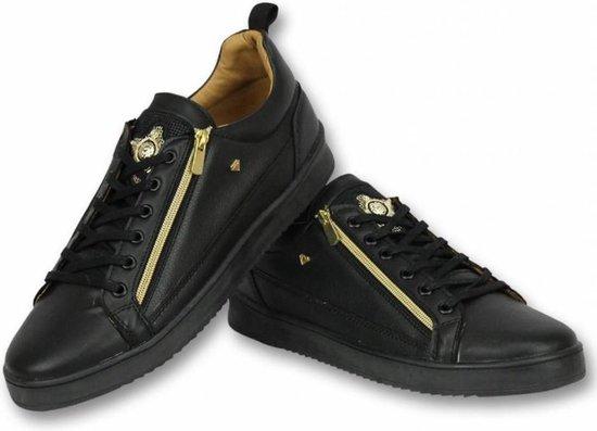 Cash Money Heren Schoenen - Heren Sneaker Bee Black Gold - CMS97 - Zwart - Maten: 42