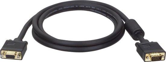 Tripp Lite P500-050 VGA kabel 15,24 m VGA (D-Sub) Zwart