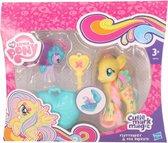 Plastic My Little Pony speelfiguren set Fluttershy geel