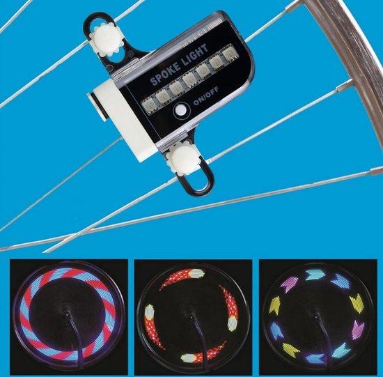 LED Fietswiel Spaak Licht Kinderen - Spaakverlichting / Fietswielverlichting - Kinderfiets