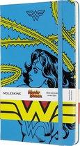 Moleskine Limited Edition-Notitieboek-Wonder Woman-Large-Gelineerd-Blauw