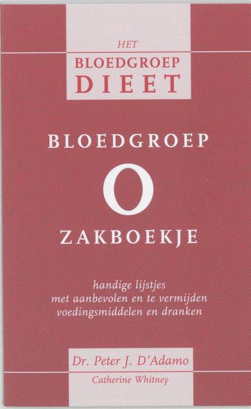 Bloedgroep O zakboekje - P. D'Adamo |