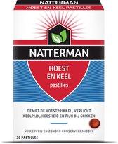 Natterman Hoest en Keel pastilles - 20 st - supplement