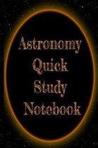 Astronomy Quick Study Notebook