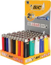BIC lighter aansteker maxi J26 Display(50stuks)