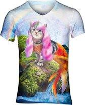 Zeemeerkat festival shirt - V-hals, S