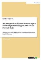 Softwaregestutzte Unternehmensanalysen und Ratingvorbereitung fur KMU in der Bauwirtschaft
