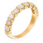 Orphelia RD-33079/51 - Ring - geelgoudkleurige 18 Karaat - Diamant 1.0 ct
