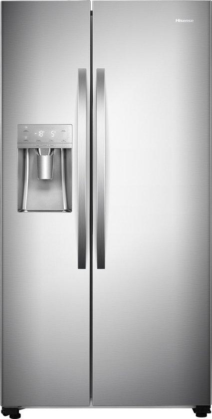 Koelkast: Hisense RS695N4IC1 - Amerikaanse koelkast  - RVS look, van het merk Hisense