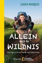 Boek cover Allein durch die Wildnis van Sarah Marquis (Onbekend)