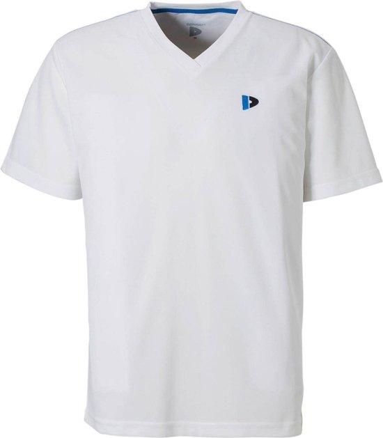 Donnay Cooldry V-Neck - Sportshirt - Heren - Maat M - Wit