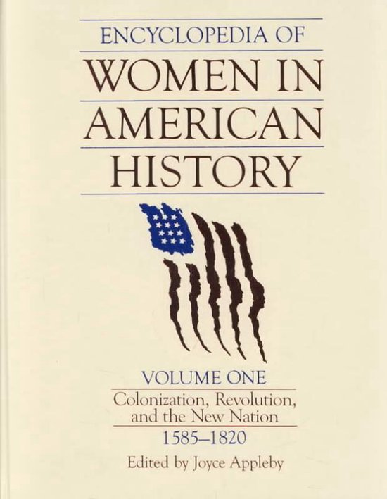 Boek cover Encyclopedia of Women in American History van Joyce Appleby (Hardcover)