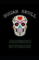 Sugar Skull Password Notebook