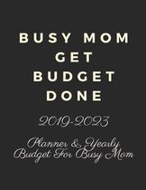 Busy Mom Get Budget Done