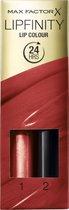 -Max Factor Lipfinity Lip Colour Lipstick - 125 So Glamorous-aanbieding