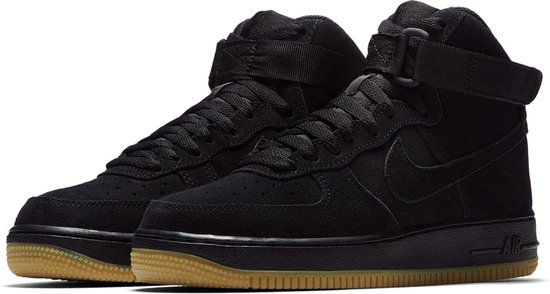 Nike Air Force 1 High '07 LV8 Suede Sneakers Junior Sneakers - Maat 39 -  Mannen - zwart