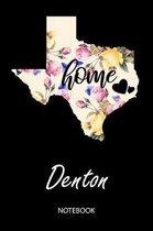 Home - Denton - Notebook