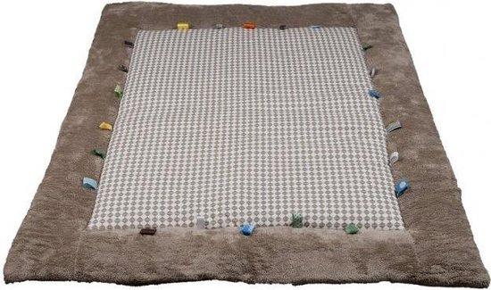 Snoozebaby - speelkleed/boxkleed Cheerful Playing (85x105cm) - Desert Taupe