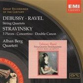 Debussy, Ravel: String Quartets; Stravinsky / Alban Berg Quartett