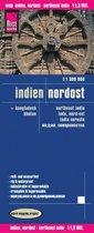 Reise Know-How Landkarte Indien, Nordost / Noord-Oost India