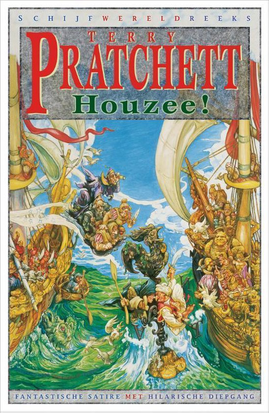 Schijfwereld 21 - Houzee! - Terry Pratchett |