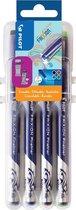 Pilot Frixion uitwisbare fineliner set - 4 stuks in diverse kleuren