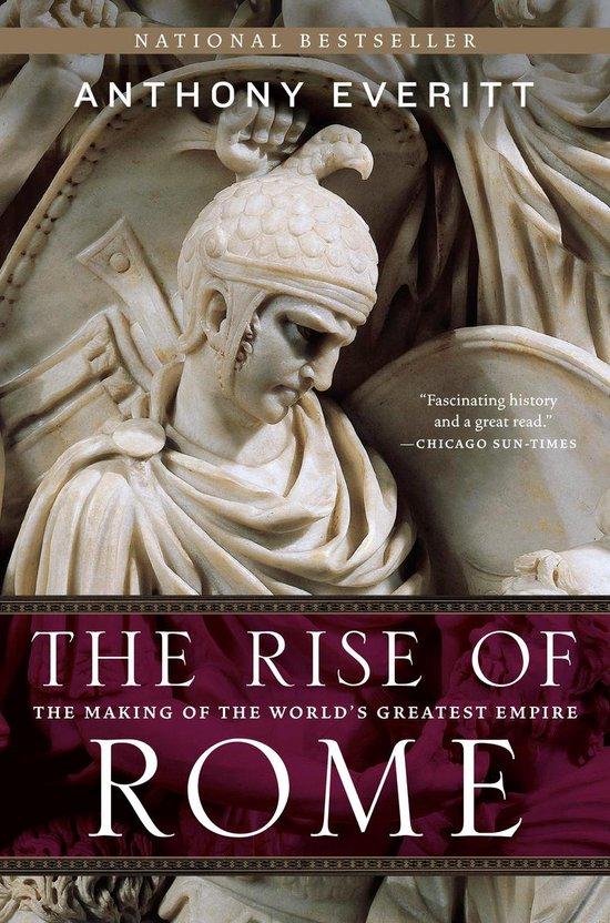 Boek cover The Rise of Rome van Anthony Everitt (Paperback)
