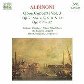 Albinoni: Oboe Concerti Vol.3