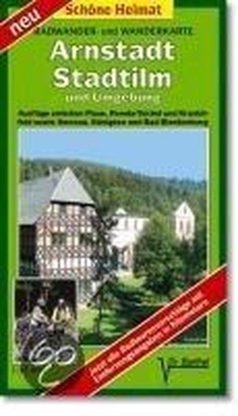 Radwander- und Wanderkarte Arnstadt, Stadtilm und Umgebung 1 : 35 000