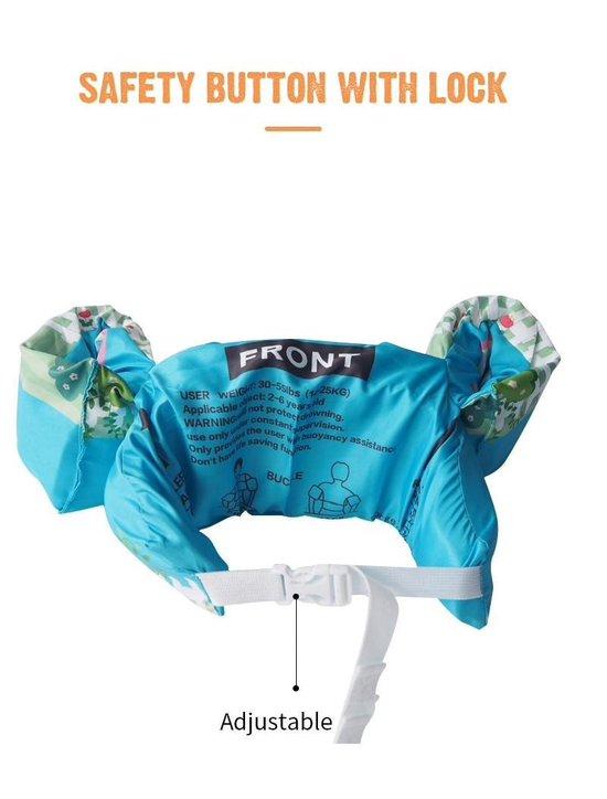 Zwemvest kinderen - Eend | 2 - 6 jaar | 15 - 25kg | Veilig zwemmen | Zwemband | Reddingsvest | Kidzstore.eu