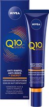 NIVEA Q10plusC Anti-Rimpel 25+ - Energy Nachtcrème - 40 ml