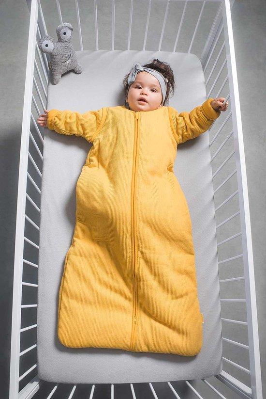 Jollein Padded Babyslaapzak met afritsbare mouw - 90cm - ocher