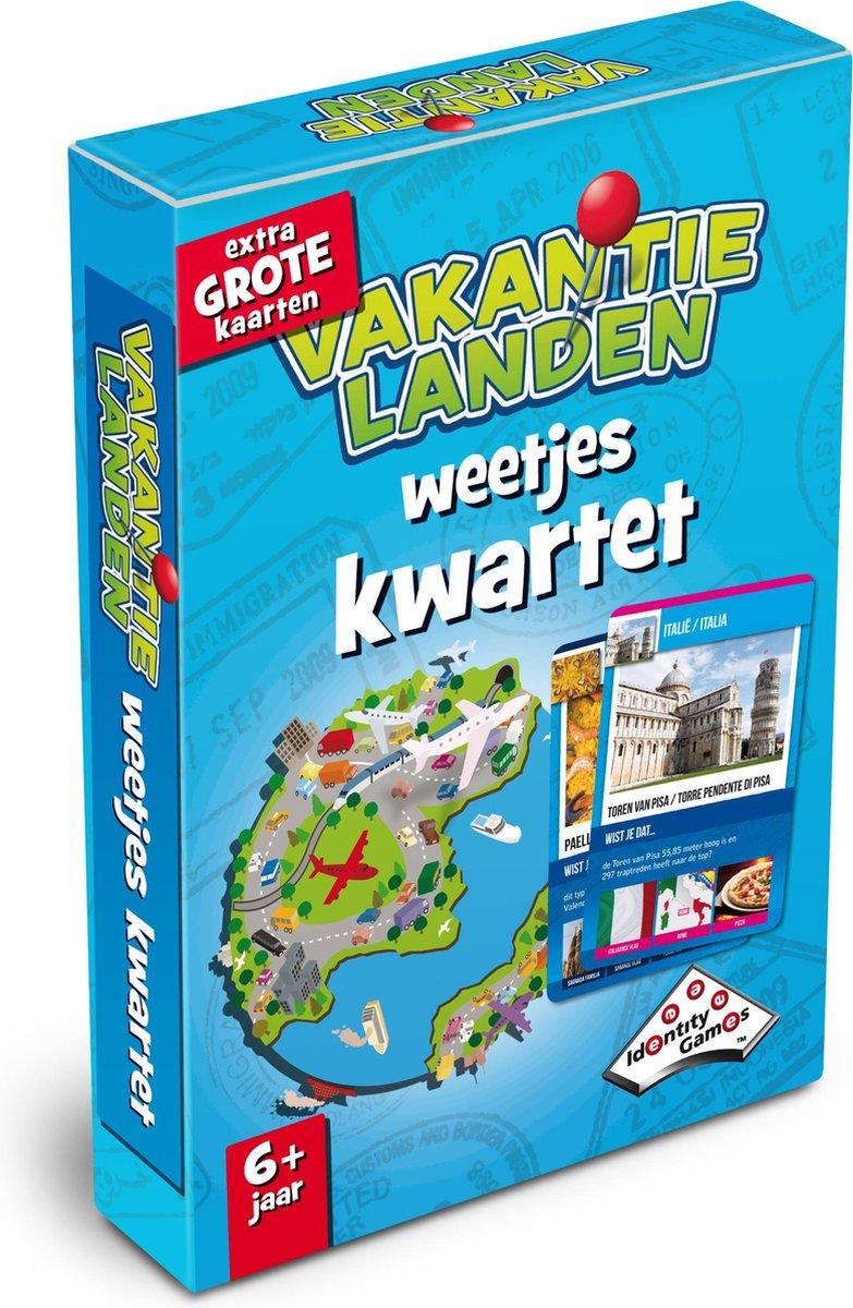 Vakantielanden Weetjeskwartet - Kaartspel - Special Edition