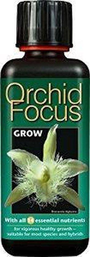 Orchid Focus Grow 300ml | Voor een gezonde groei van uw Orchideeën ( Goed voor 120 liter voeding )
