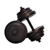 Verstelbare Dumbbellset Focus Fitness - Totaal 20 kg - 2 x 10 kg