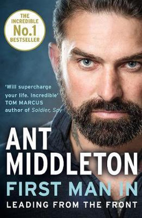 Boek cover First Man In van Ant Middleton (Paperback)