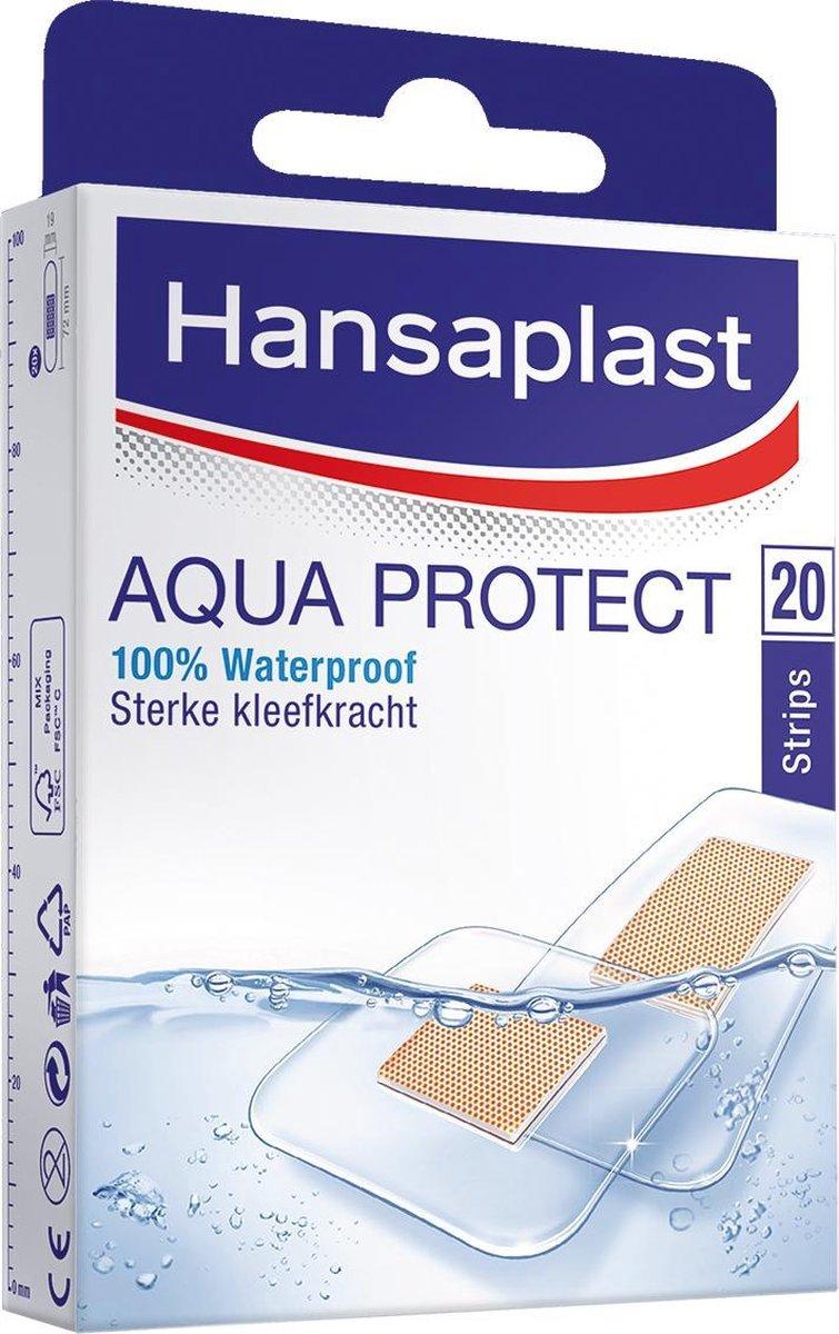 Hansaplast Aqua Protect Pleisters Waterdicht - 20 stuk